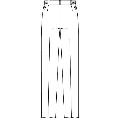 フォーク 女子パンツ 2917 ホワイト L