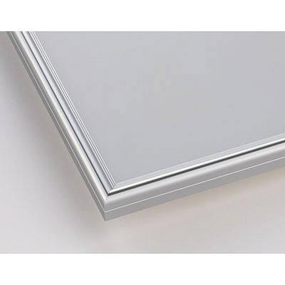 ポスターフレーム B4サイズ 軽量アルミ製 DSパネル シルバー 1000017625 アートプリントジャパン