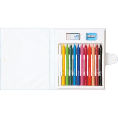 ぺんてる パスティック 12色 GC1-12D 1箱(5セット入) (取寄品)