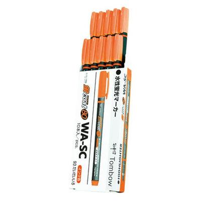 トンボ鉛筆 蛍コート80 橙色 1箱(10本入)