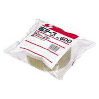 布テープ No.600 0.31mm厚 50mm×25m巻 茶 1箱(30巻入) 積水化学工業