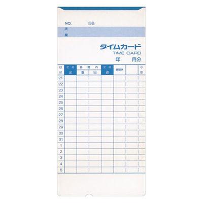 アマノ 標準タイムカード Bカード(20日締め/5日締め) 300枚入