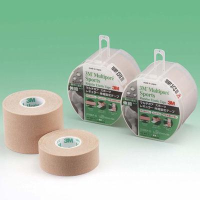 スリーエム ジャパン 3Mマルチポアスポーツレギュラー伸縮固定テープ ブリスターパック 25mm幅 2743BLP-25 1ケース(96巻入) (取寄品)