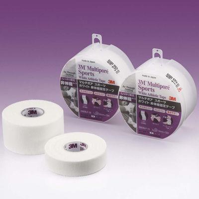 スリーエム ジャパン 3Mマルチポアスポーツホワイト非伸縮テープ ブリスターパック 19mm幅 2980BLP-19 1ケース(96巻入) (取寄品)