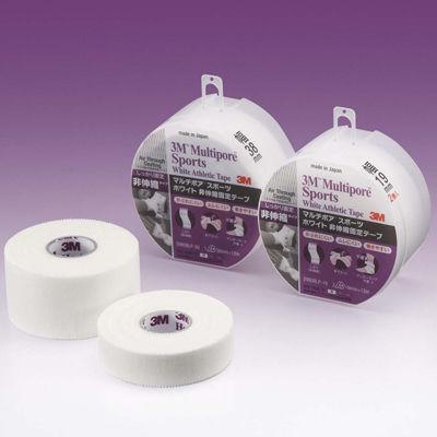 スリーエム ジャパン 3Mマルチポアスポーツホワイト非伸縮テープ ブリスターパック 38mm幅 2980BLP-38 1ケース(48巻入) (取寄品)