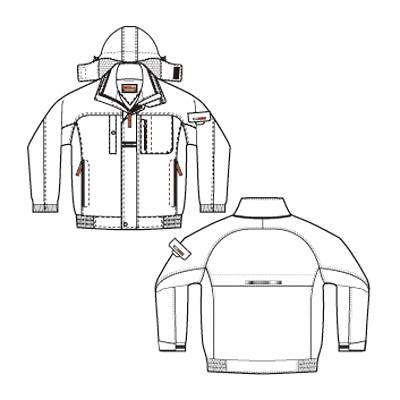 アイトス AZ6061-019 防寒ブルゾン イエロー LL (直送品)