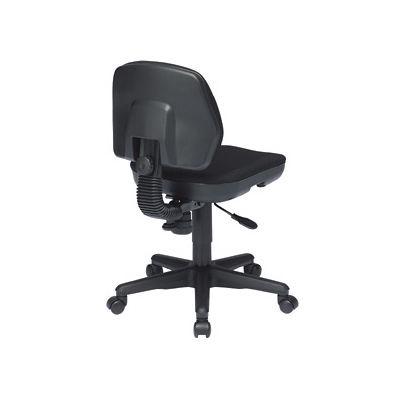 サンワサプライ モールドウレタンチェア オフィスチェア 肘無し ブラック SNC-T145BK 1脚 (直送品)