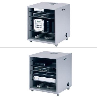 サンワサプライ NAS、HDD、ネットワーク機器収納ボックス CP-KBOX2 (直送品)