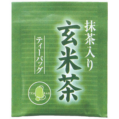 ハラダ製茶 徳用抹茶入玄米茶ティーバッグ