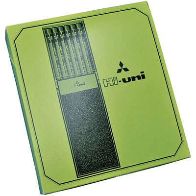 三菱鉛筆(uni) ハイユニ 4B HU4B 1箱(6ダース入:12本×6) (取寄品)