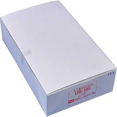 三菱鉛筆(uni) 水性ボールペン ユニボールUB-105 赤 UB105.15 1箱(100本入) (取寄品)
