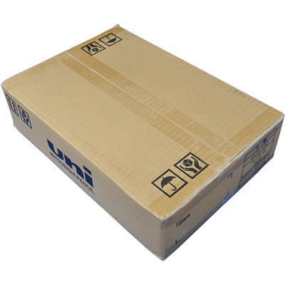 三菱鉛筆(uni) 下敷 DUS-120 PLT オレンジ B5 DUS120PLT.4 1箱(200枚入) (取寄品)