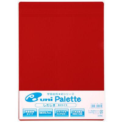 三菱鉛筆(uni) 下敷き 赤 B5 DUS120PLT.15 1箱(200枚入)