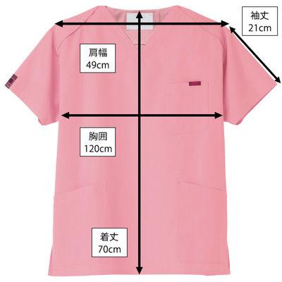 フォーク カラースクラブ ピンク L