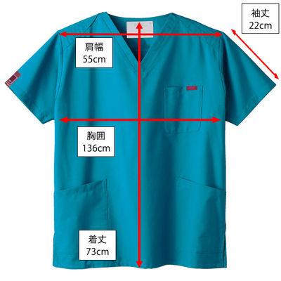 フォーク カラースクラブ(男女兼用) 7000SC-11 ターコイズ 3L (取寄品)
