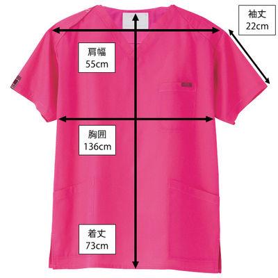 フォーク カラースクラブ(男女兼用) 7000SC-13 チェリーピンク 3L (取寄品)