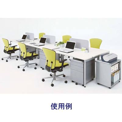 岡村製作所 オプシスREテーブル1400Wホワイト (直送品)