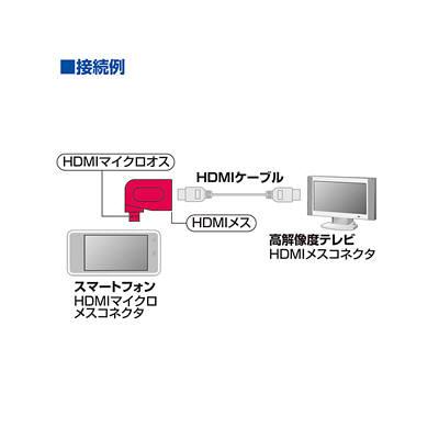 サンワサプライ HDMI-マイクロ変換