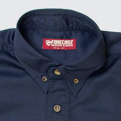 カジメイク ボタンダウンシャツ ネイビー M (取寄品)