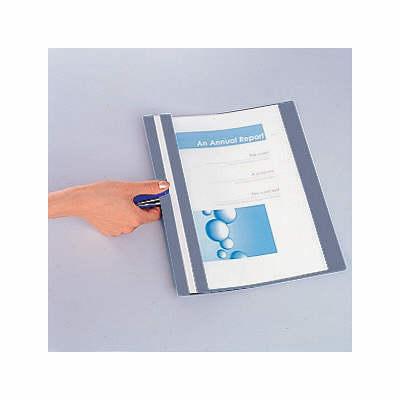 製本ファイル A4縦 青 20冊