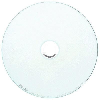 日立マクセル CD-R700MBワイドプリントホワイト CDR700S.WP.50SP 1パック(50枚入)