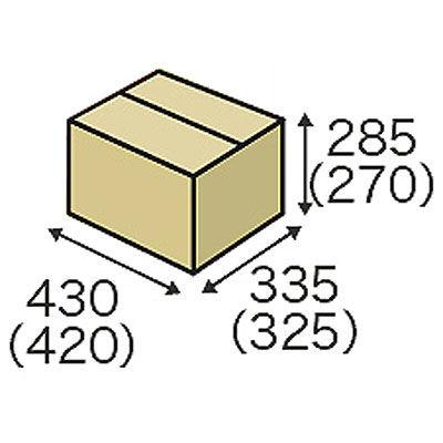 森紙業 保管箱 内寸420×325×270 1パック(20枚入)