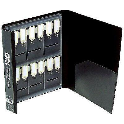 ベッセル Qキーファイル ブラック QKF-12B 1セット(3冊:1冊×3)