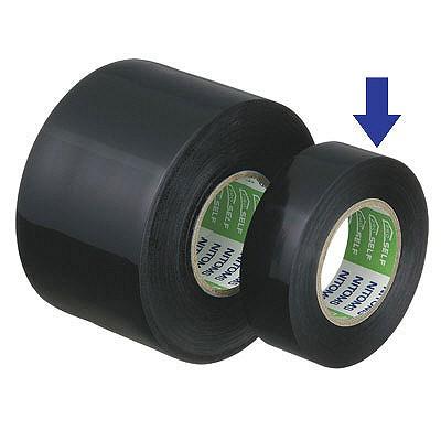 ビニルテープS19MM幅×長さ10M黒 J2577 1箱(10巻入) ニトムズ