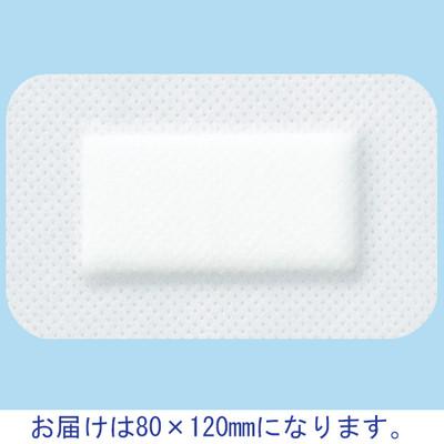 ニチバン カテリーパッドマイルド 80×120mm No.0812 1箱(25枚入) (取寄品)