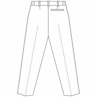 AITOZ(アイトス) レディースパンツ(スリムストレート) ナースパンツ 医療白衣 ホワイト 3L 861366-001 (直送品)