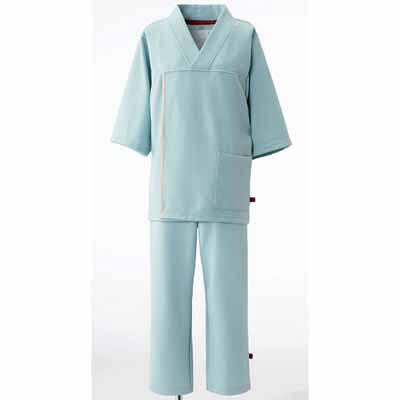 検診衣上衣 LK-1436 グレ- S (取寄品)
