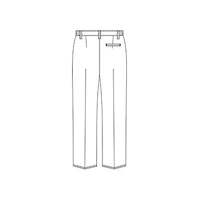 オンワード 白衣 メンズパンツ PR-5003 ホワイト BL (取寄品)