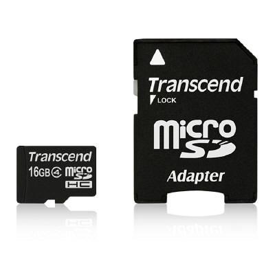 トランセンド microSD 16GB