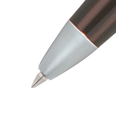 受付ペン&スタンド2 ブラック軸 0.7mm 5組 油性ボールペン アスクル
