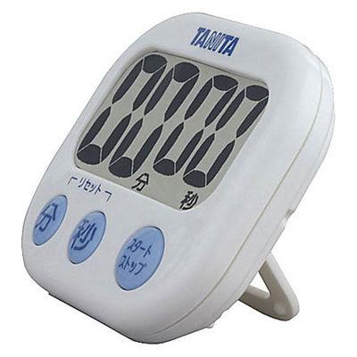 タニタ でか見えタイマー100分計 ホワイト キッチンタイマー 1セット(5個:1個×5)