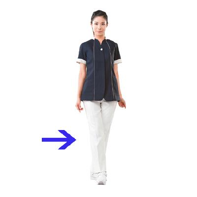 高浜ユニフォーム 女子 パンツ AN32211 オフホワイト S 1枚 (取寄品)