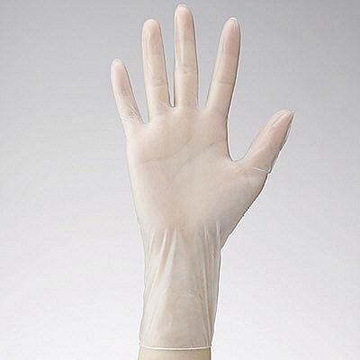 ファーストレイト PVCグローブPF SS 粉なし(パウダーフリー) プラスチック FR-925 1パック(100枚入) (使い捨て手袋)
