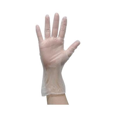 オオサキメディカル オオサキプラスチック手袋パウダーフリー L 70002 1箱(100枚入) (使い捨て手袋)
