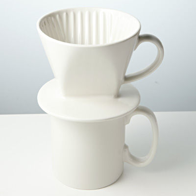 KINTO キントー FARO コーヒードリッパー&マグ 7067/192281(ドリッパー 1杯 一人用