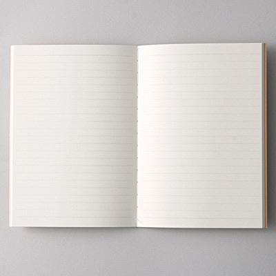 再生紙ノート・6mm横罫 A6・B罫