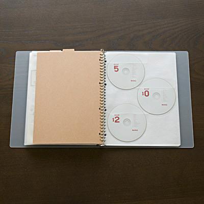 再生紙インデックス・ベージュA4・30穴