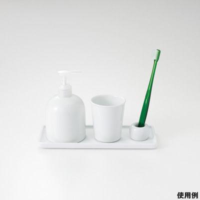 ... 白磁歯ブラシスタンド 1本用 ...