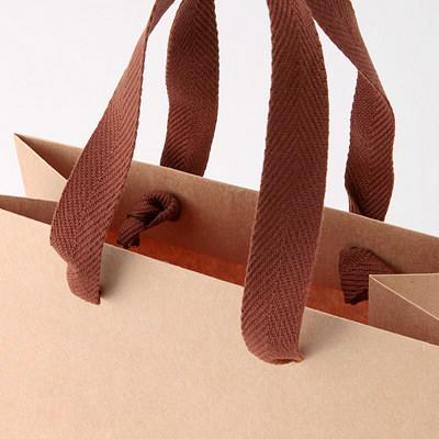 手提げ紙袋 薄茶 小 1枚