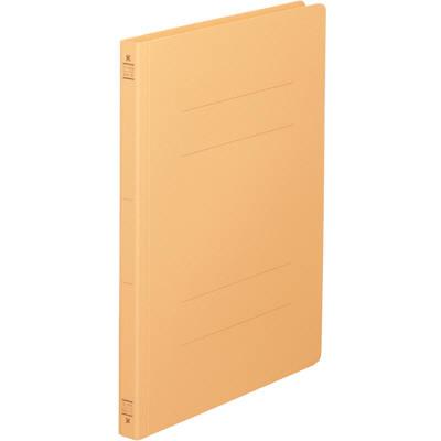 コクヨ フラットファイルV(樹脂製とじ具) A4タテ 黄 フ-V10-3 1セット(3パック:9冊入)