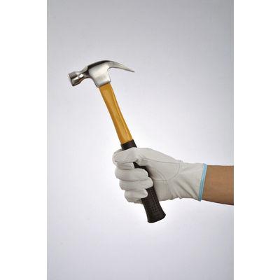 ミタニコーポレーション 「現場のチカラ」 革手袋ブタレンジャーアテ付き M 1セット(10双)