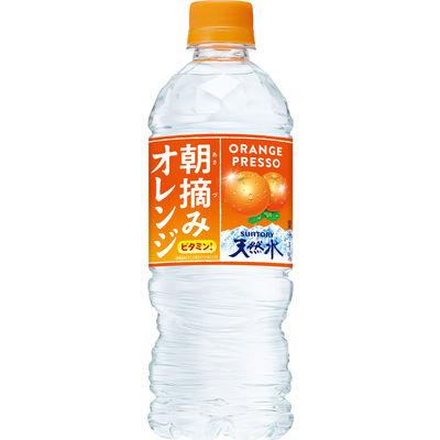 朝摘みオレンジ&天然水 540ml 6本