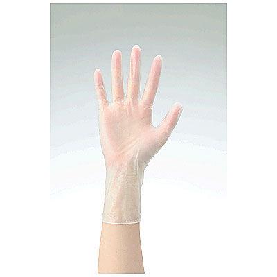 共和 ミリオン プラスチックグローブ NO.10 SS 粉付き(パウダーイン) LH-010-SS 1箱(100枚入) (使い捨て手袋)