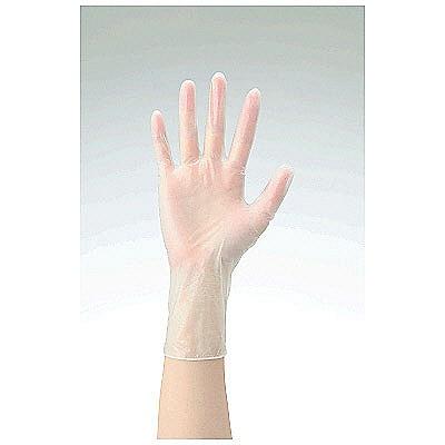 共和 ミリオン プラスチックグローブ NO.10 L 粉付き(パウダーイン) LH-010-L 1箱(100枚入) (使い捨て手袋)