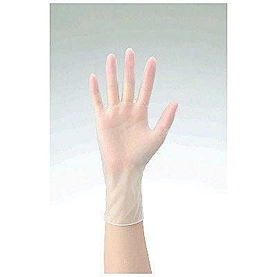 共和 ミリオン プラスチックグローブ NO.50 L 粉なし(パウダーフリー) LH-050-L 1箱(100枚入) (使い捨て手袋)