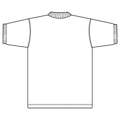 ポロシャツ(男女兼用) ホワイト S